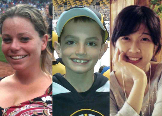 The Victims of the Boston Marathon Bombings