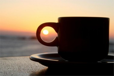 Coffee at dawn